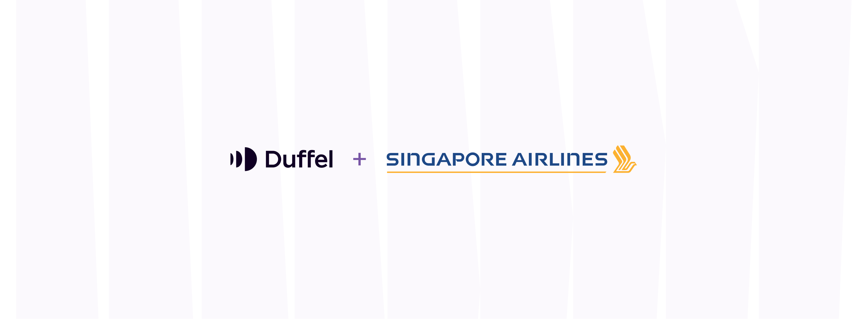 Singapore Airlines is live on Duffel and open to the world!